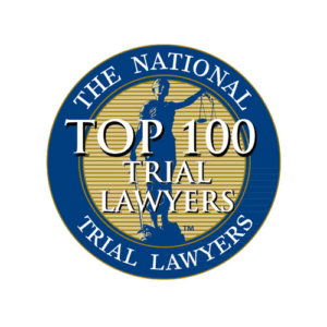 Top 100 Trial Lawyers Robert Greening Badge